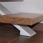 Scala in legno ed acciaio per interni 39